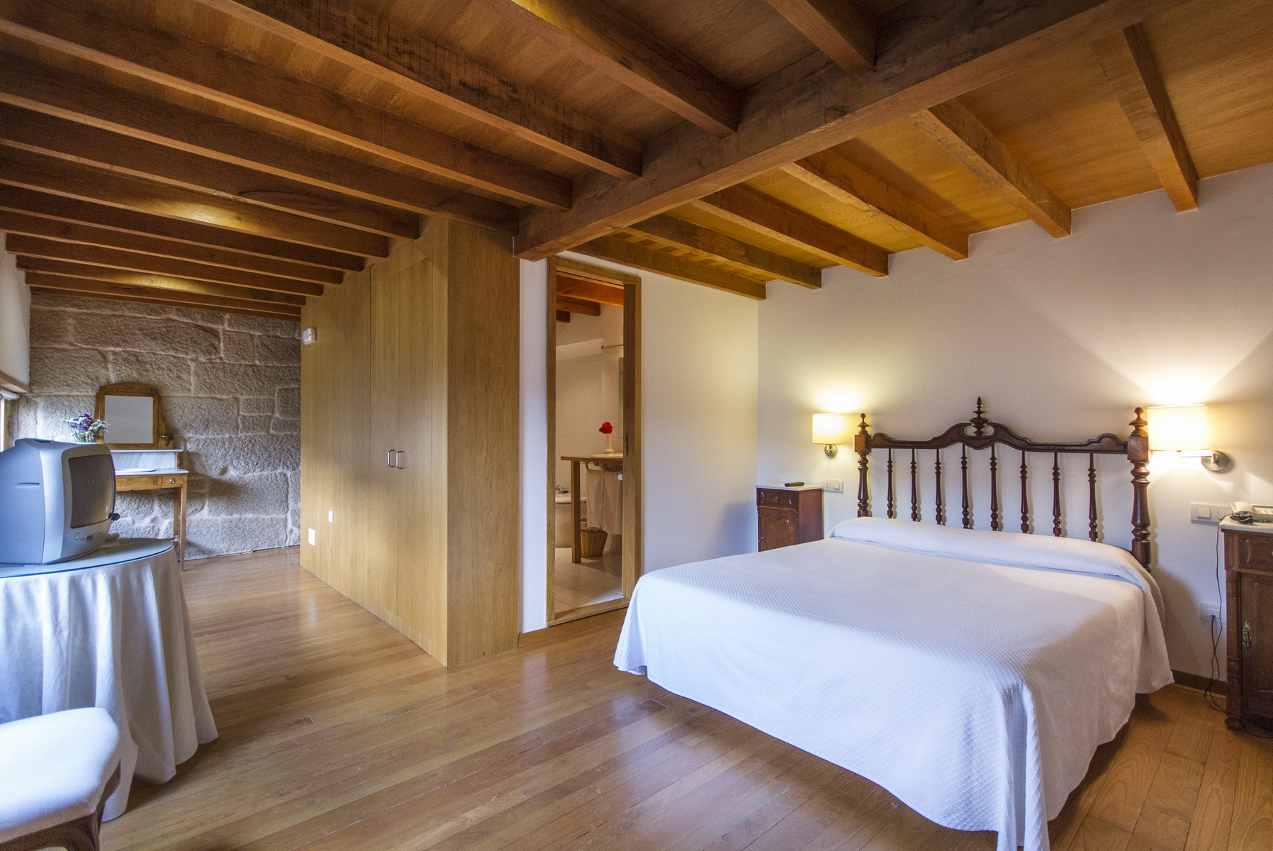 Las Habitaciones - Casa Rural Vilaboa